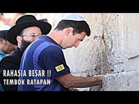 RAHASIA TERSEMBUNYI ! DIBALIK TEMBOK RATAPAN ATAU JERUSALEM WALL