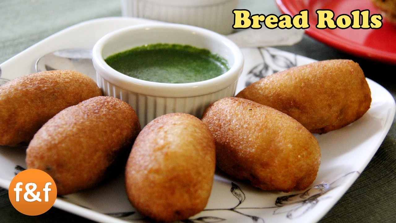 Bread Rolls Recipe | Potato Bread Rolls | Indian Breakfast ...