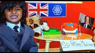 Introducing: The Kid Prime Minister in UK