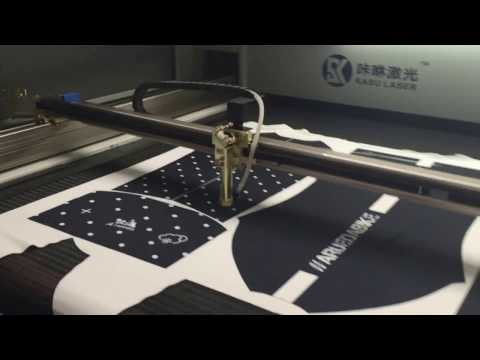 Vision Laser Cutting Machine for Printed Fabric Textile