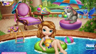 Sofia Swimming Pool And Real Makeover Princess Games Online Free Flash Game Videos GAMEPLAY