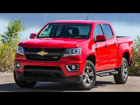 2015 Chevrolet Colorado Review Rendered Price Specs Release Date