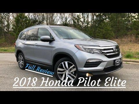 2018 Honda Pilot Elite Review   Inside & Out