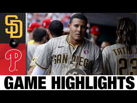 Padres vs. Phillies Game Highlights (7/4/21) | MLB Highlights