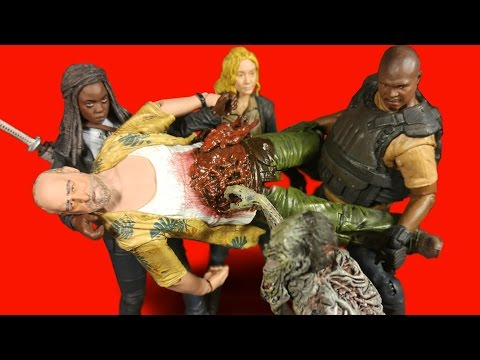 The Walking Dead Series 9 Action Figures Overall Review