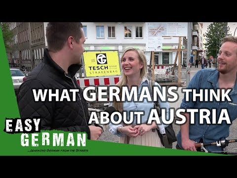 What do Germans think about Austria? | Easy German 87