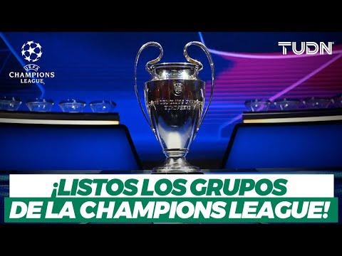 ¡QUÉ TORNEAZO! Definidos los grupos de la Champions: Posible CR7 vs Messi I TUDN