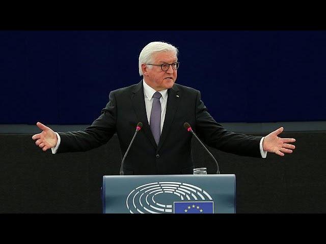 Президент ФРГ призвал сделать ЕС главным мировым игроком