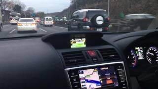 レヴォーグ2.0GT-SアイサイトVer.3クルーズコントロール高速渋滞