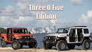 Meet the 2020 Jeep Wrangler and Gladiator 305 Editions