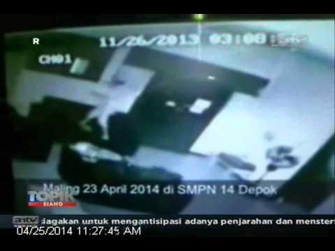 ANTV TOPIK Maling Di Sekolah Terekam CCTV