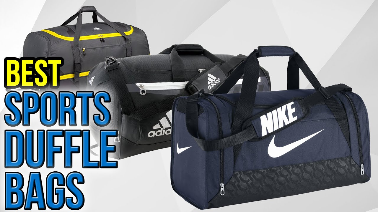 8 Best Sports Duffle Bags 2017 - YouTube 4d9211560