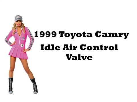 1999 Toyota Camry Idle Air Control Valve Location - YouTube