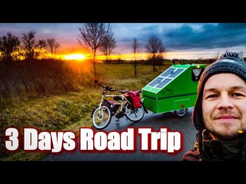 ❄️BICYCLE CAMPER Winter-Roadtrip thumbnail