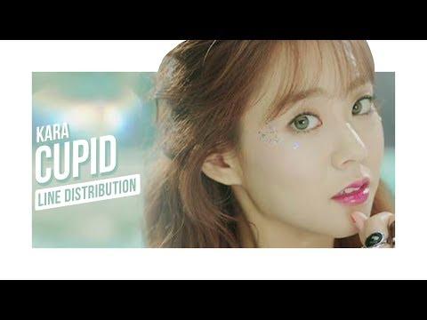 KARA (카라) - Cupid (큐피드) (Line Distribution)