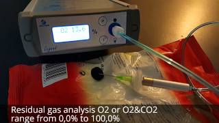 potato chips headspace oxygen analysis with LEGEND O2