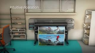 видео Латексный принтер HP Latex 315 54