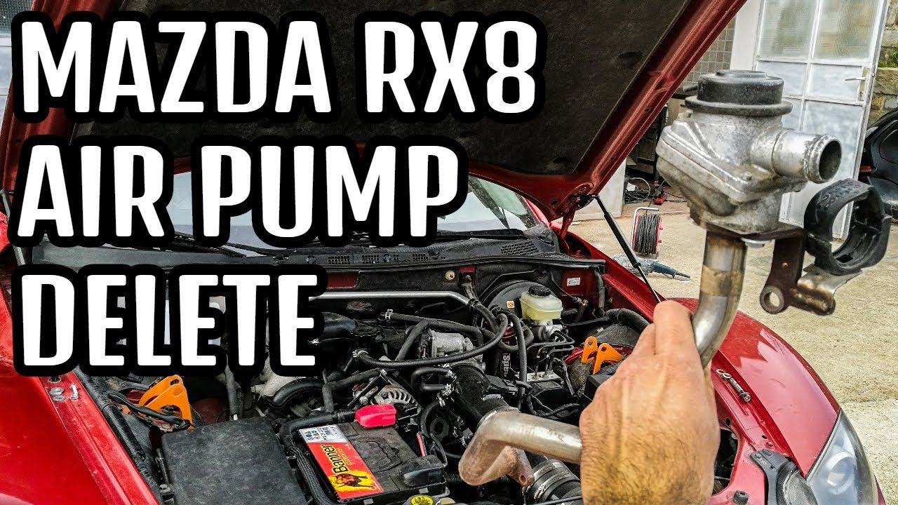 rx8 air pump fix