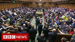 The moment Tory MP defects to Lib Dems - BBC News
