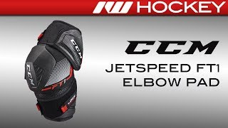 CCM JetSpeed FT1 Elbow Pad Review