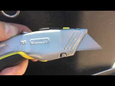 Roofing Tools | Stanley Fatmax Dual Razor Knife