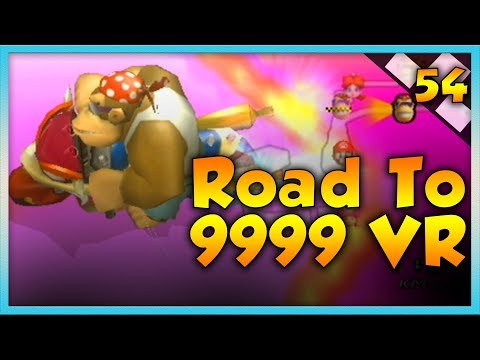 Mario Kart Wii Custom Tracks - Lucky Unlucky Races - Road To 9999 VR | Ep. 54