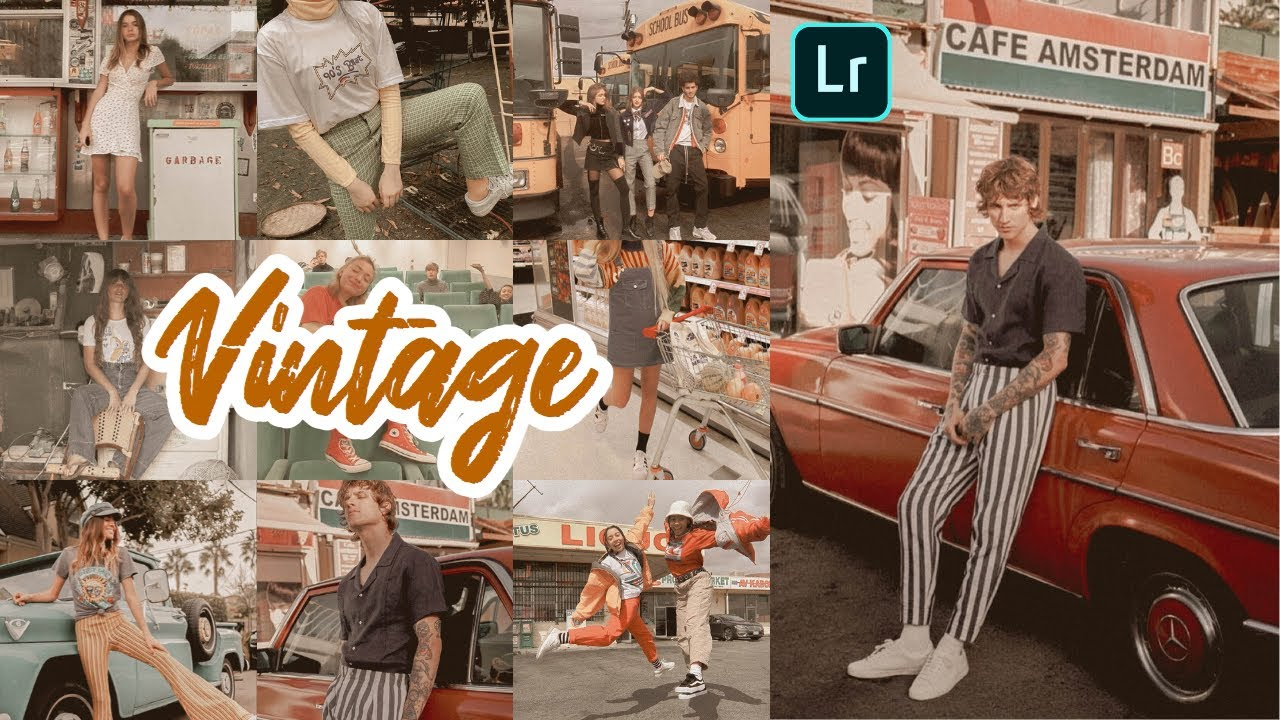 Lightroom Mobile Presets Free Dng Xmp | Vintage Lightroom Editing Tutorial | Vintage Preset