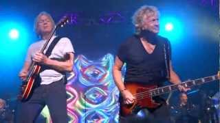The Moody Blues perform I'm Just a Singer in a Rock and Roll Band a...