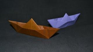 Origami:  Barquinho De Papel