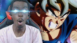 ULTRA INSTINCT! Dragon Ball Super LIVE REACTION! (Episode 109 - 110)
