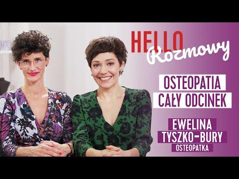 Czym jest osteopatia ginekologiczna? Rozmowa z Eweliną Tyszko-Bury CAŁY ODCINEK #hellozdrowie