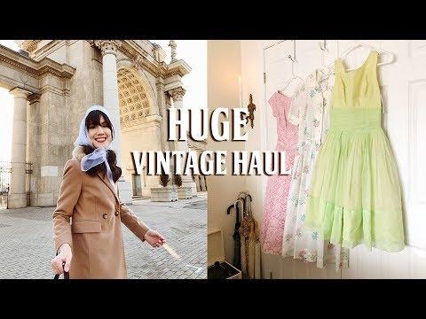 HUGE Vintage Clothing Haul! | Carolina Pinglo