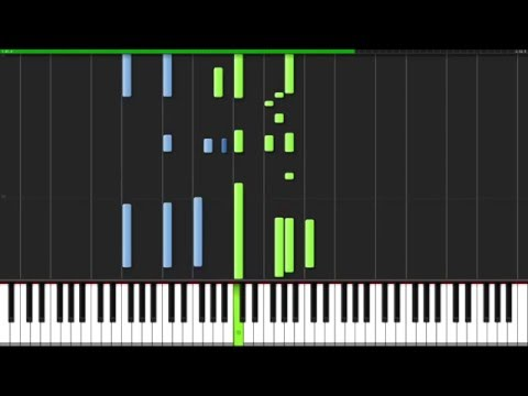 Ophelia - The Lumineers [Piano Tutorial] (Synthesia) // David Kaylor
