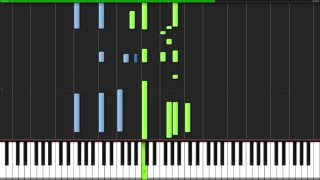 Ophelia - The Lumineers [Piano Tutorial] (Synthesia) // David Kaylor