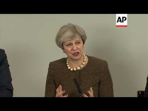 UK PM comments on Brexit during Wales meeting