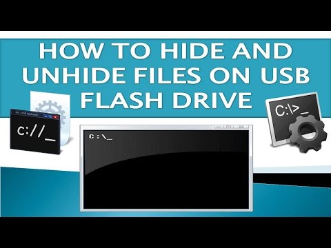 How To Hide & Unhide Files In USB Flash Drive?