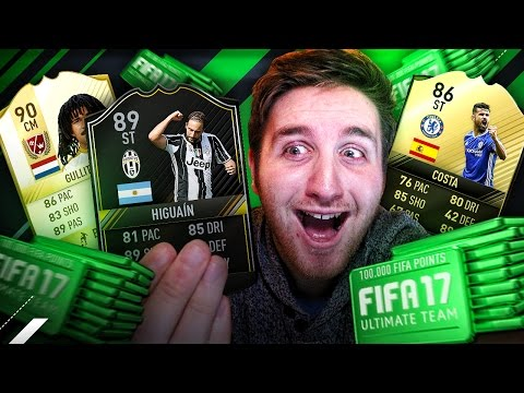 50,000 FIFA POINTS ON PACKS!!