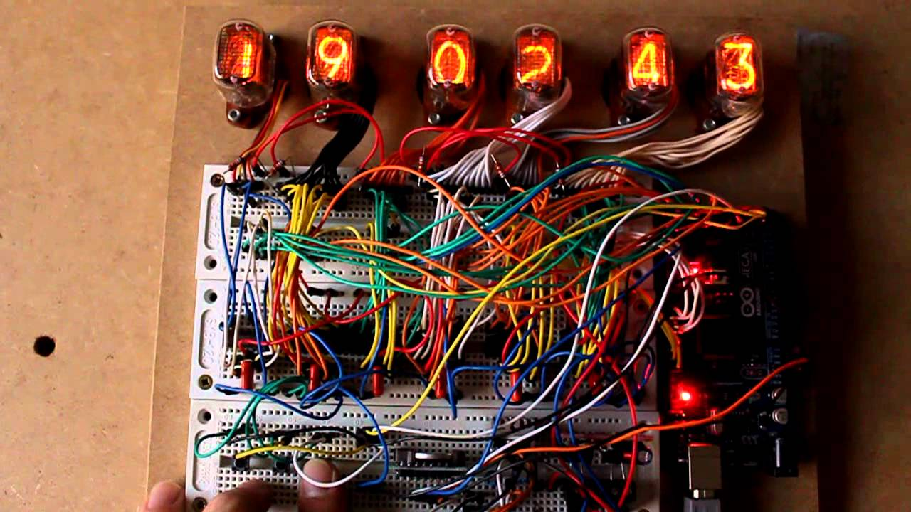 Arduino Based Nixie Clock