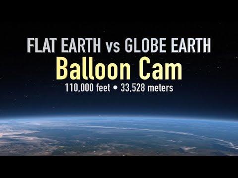 Globe Earth vs Flat Earth (Balloon Ride to 110,000 feet) 2160p