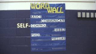 Literacy in Physical Education: Word Wall