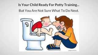 Potty Training For Boys Weird Trick - (MUST SEE)