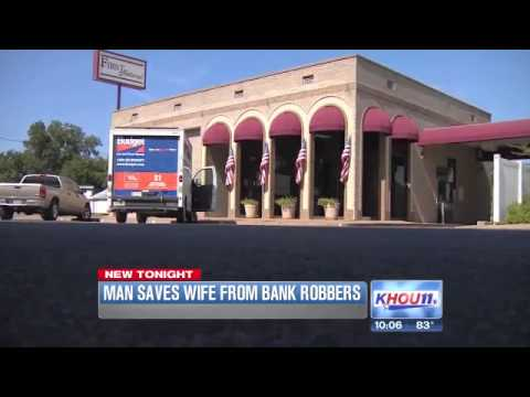 Thugs try kidnapping and bank robbery, catch lead in the process (Texas)