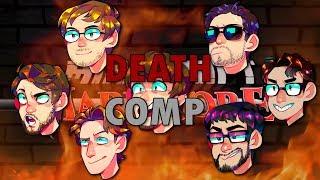 PeanutButterGamer HARDCORE! - Minecraft #5 - All Deaths Compilation