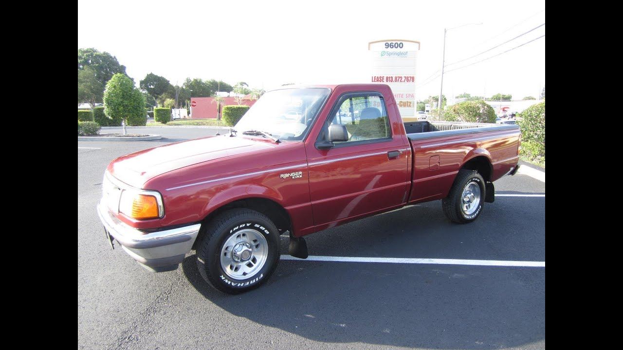 Sold 1997 ford ranger xlt reg cab v6 meticulous motors inc florida for sale youtube