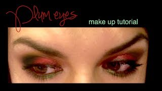 Plum Eyes ~ Make up Tutorial