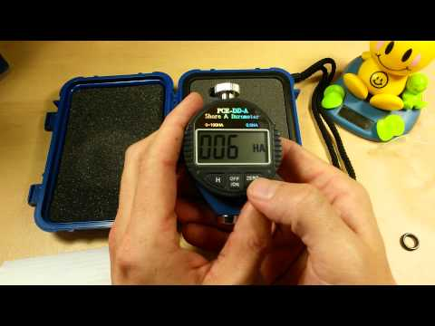 (:Review:) PCE Shore A Hardness Tester ~Durometer~ Test Soft Rubber, Leather, Foam & Plastic