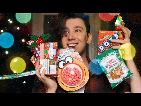 Пробуем американские рождественские сладости   Ущербный МУКБАНГ   Юлаймас #14