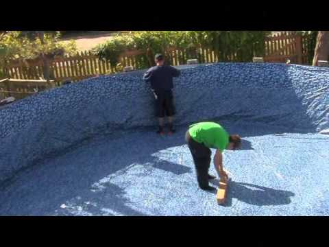 How To Install A Replacement Above Ground Pool Liner In 5 Minutes
