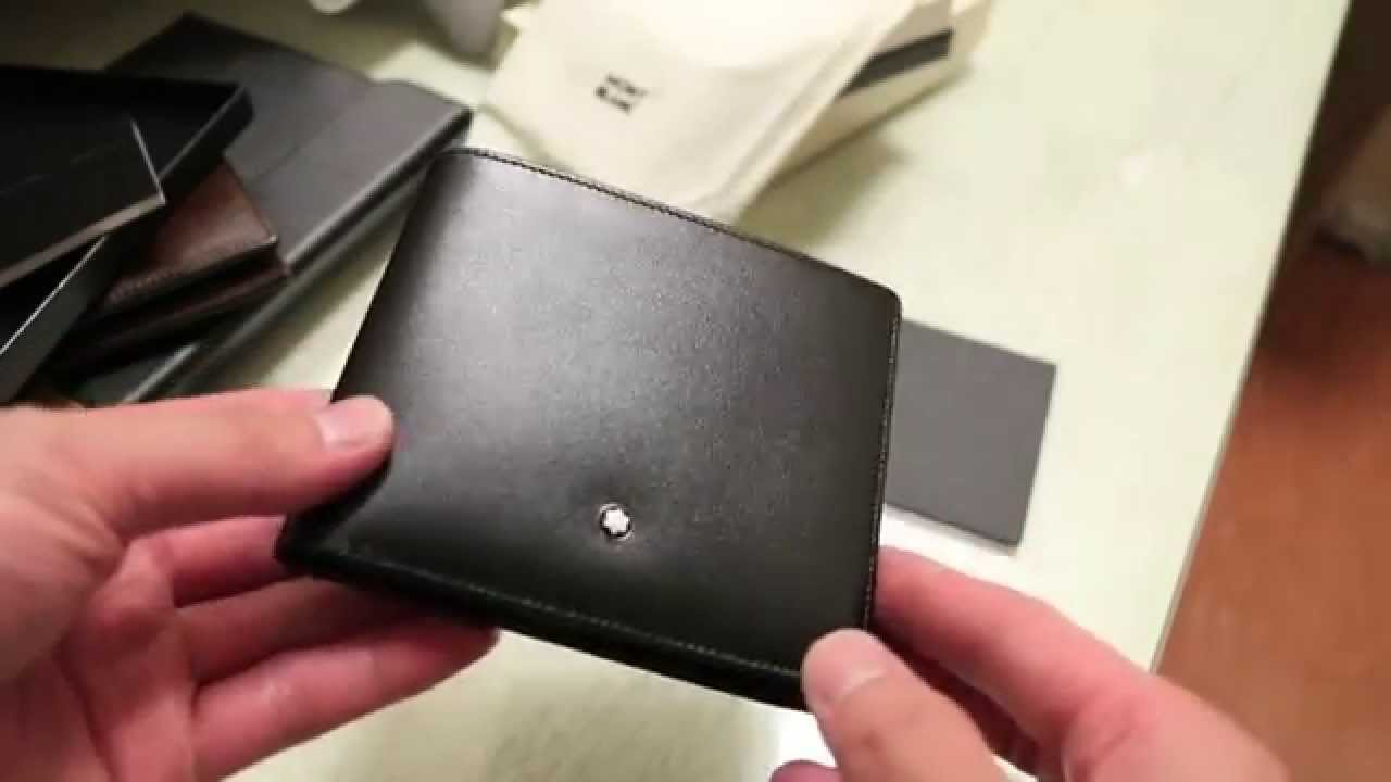 a9f8c26cd1 Mont Blanc 11cc Mens Bi-Fold Wallet - Review - YouTube