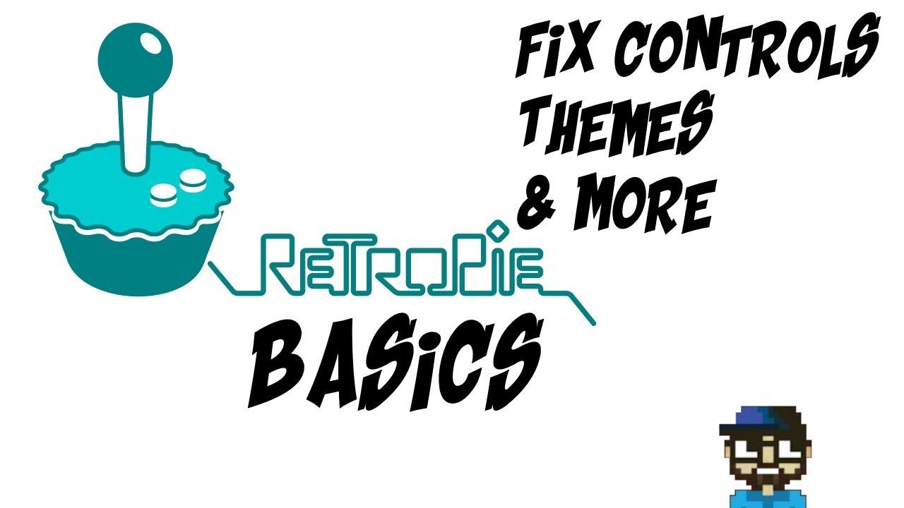 how to fix controls on retropie